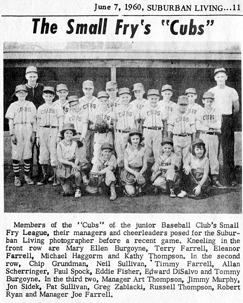 1960 Small Fry League Cubs