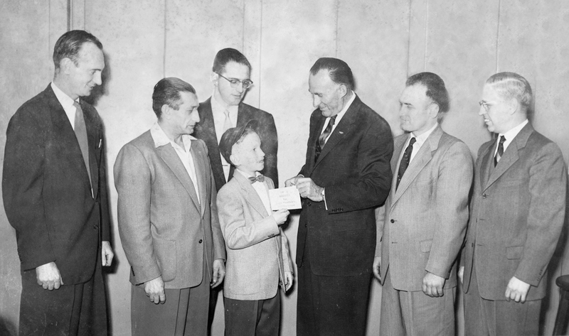 South Plainfield Small Fry League Booster Drive, 1955