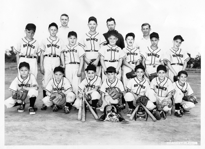 1955 Ellen Park Club Braves, South Plainfield, NJ Small Fry League