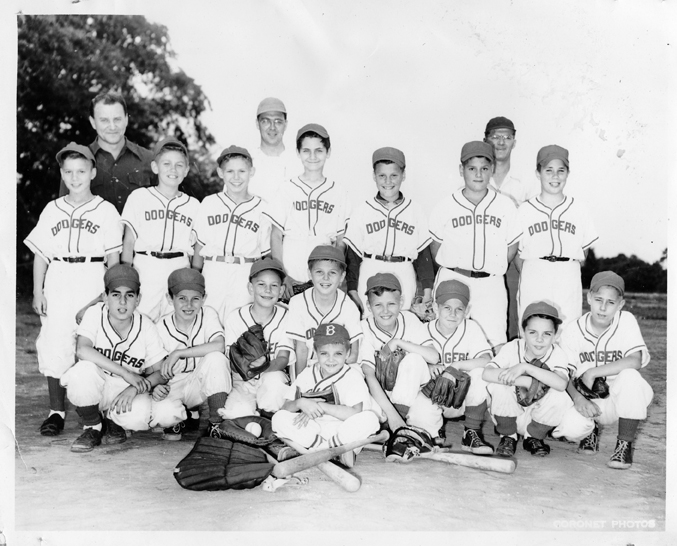1955 Polish National Home Dodgers, South Plainfield Small Fry League