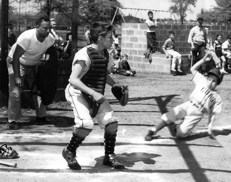 South Plainfield, NJ: Small Fry action at Pitt Field, 1959