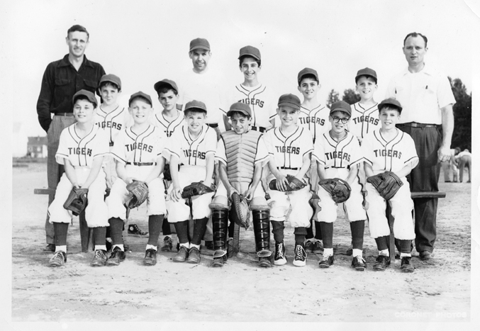 1955 Plainfield Ave Merchants Tigers, South Plainfield, NJ Small Fry Baseball League