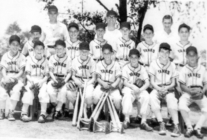 1955 Rotary Club Yankees, South Plainfield New Jersey Small Fry League