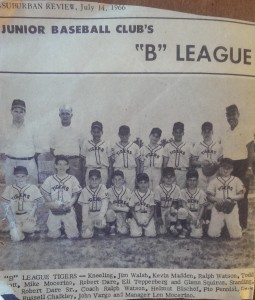1966 B League Tigers